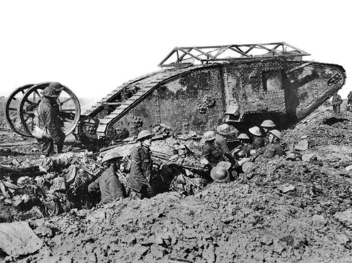 British Mark I Tank at The Somme
