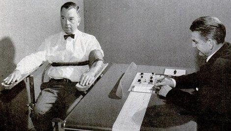 vintage lie detector polygraph test