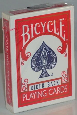 bicycle playing cards red box magic tricks