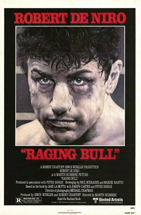 raging bull movie poster best boxing films