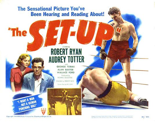 the set-up movie poster best boxing films