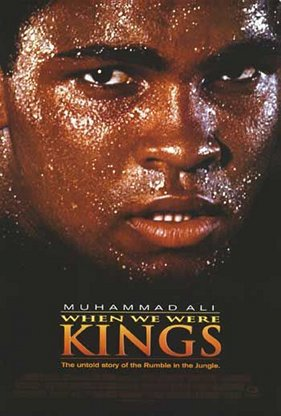 when we were kings movie poster best boxing films