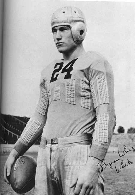 byron whizzer white football player young man