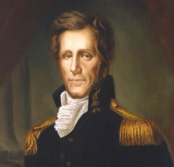 general president andrew jackson painting portrait