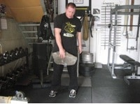 strongman odd object strength training rocks stones