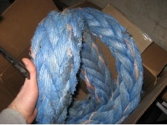 strongman odd object strength training battle rope