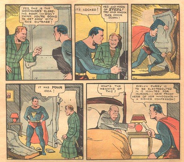 superman action comics no. 1