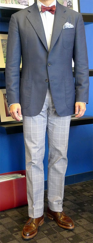 single breasted three button gray suit