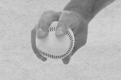four seam fastball how to grip vintage photo
