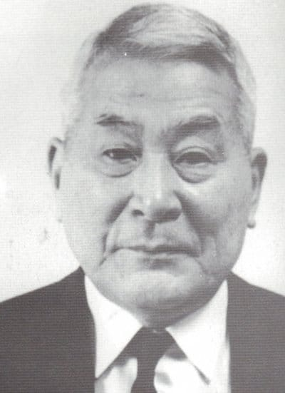 Chiune Sugihara older man portrait head shot