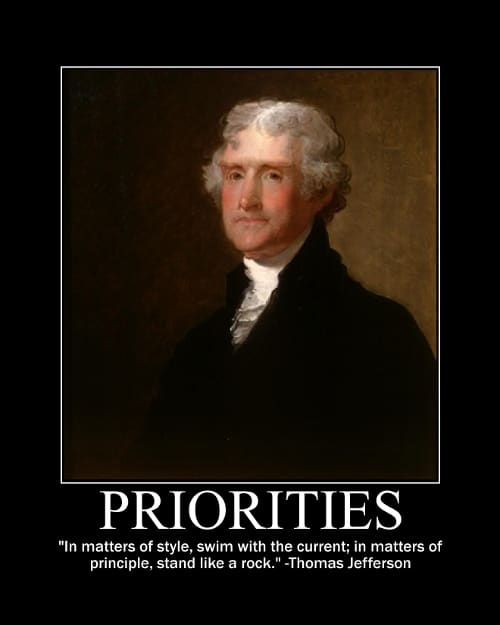 thomas jefferson style principle quote motivational poster