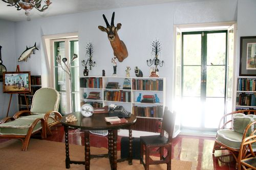 Ernest Hemingway's writing room studio  in key west Florida.