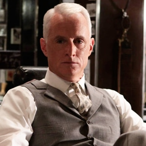 "The Roger Sterling. Want to get that dapper ""Mad Men"" look? Try the hairstyle of Roger Sterling. It's a great 'do for men who have a receding hairline, ..."