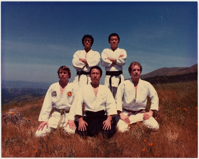 jino kang martial arts school group photo 1980s