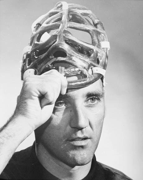 Jacques Plante fiberglass Goalie Mask