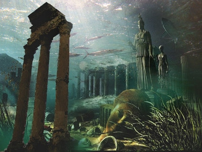 atlantis underwater city ocean civilization
