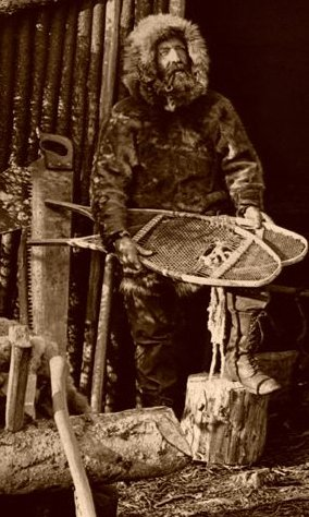 mountain man northwest parka snow shoes 1800s
