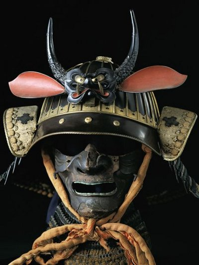 samurai mask helmet for war