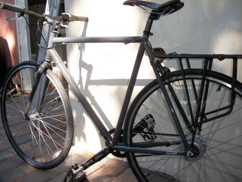 bicycle bike for long cross-country touring ride