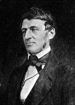 ralph waldo emerson drawing portrait head shot