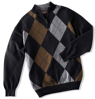 argyle sweater mens