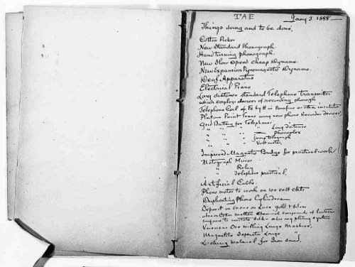 thomas edison pocket notebook journal to-do list