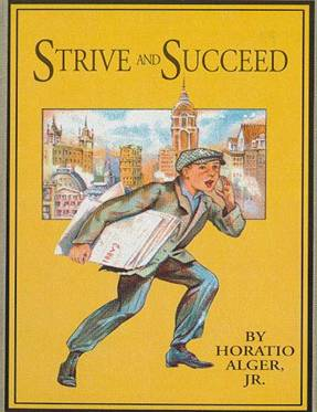 stive and succeed book cover horatio alger vintage