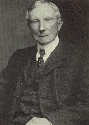 John Rockefeller portrait.