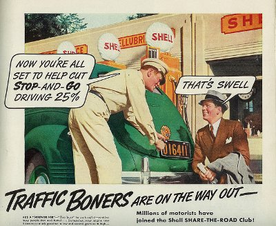 traffic boners vintage ad advertisement