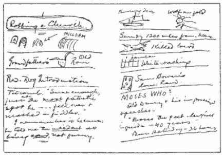 mark twain pocket notebook lecture notes