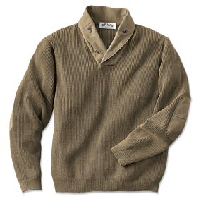 wwii inspired pull over sweater men shawl collar