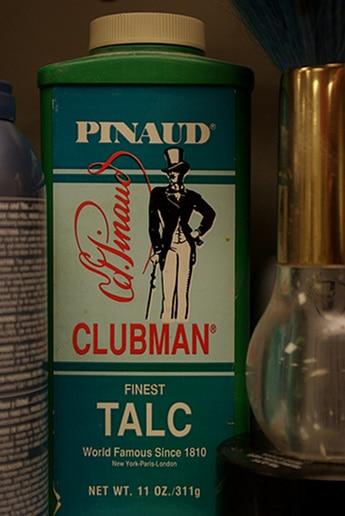 vintage pinaud clubman finest talc bottle