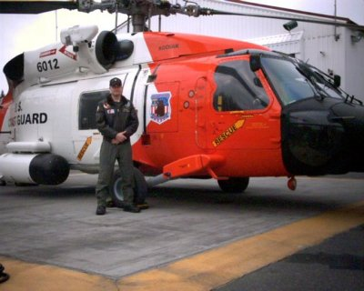 Adam Sustachek coast guard helicopter mechanic