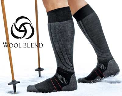 performance ski socks wool bend
