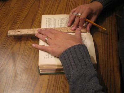 diy homemade book safe drawing compartment outline