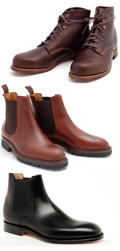 boots for traveling collection