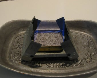 altoid tin recycled diy alcohol stove