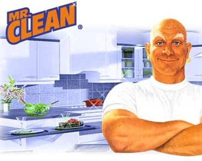 mr clean vintage ad advertisement procter gamble cartoon