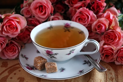 white coffee rose water tea african beverage drink
