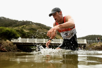 man racer in river anaconda adventure race