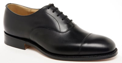 Classic English Made Oxford Balmoral black