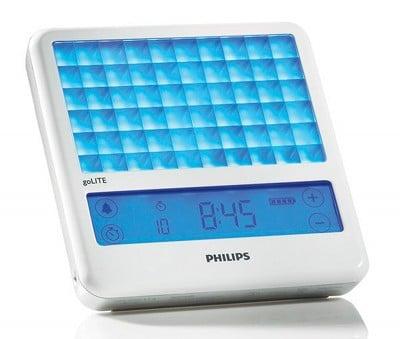 Philips goLITE BLU Light Therapy Device alarm clock