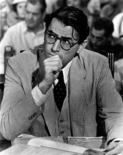 Gregory Peck potrait.
