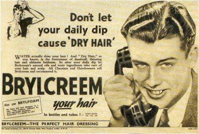 vintage brylcreem ad advertisement man on phone