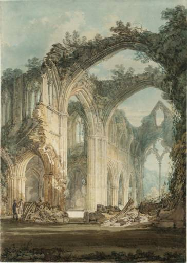 Chancel and Crossing of Tintern Abbey JMW Turner, 1794