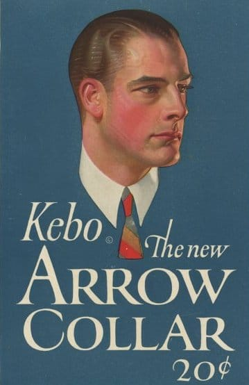 Arrow collar man vintage advertisement.