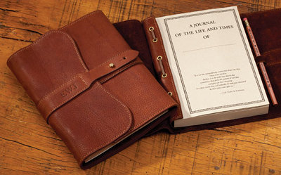col littleton leather journal for writing