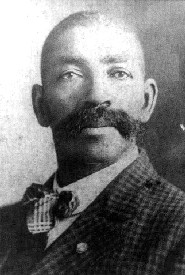 Bass Reeves portrait.