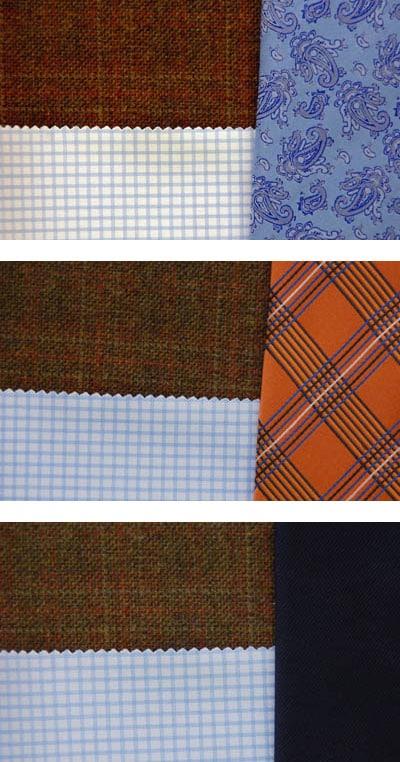 Sport Jacket blazer matching necktie colors patterns