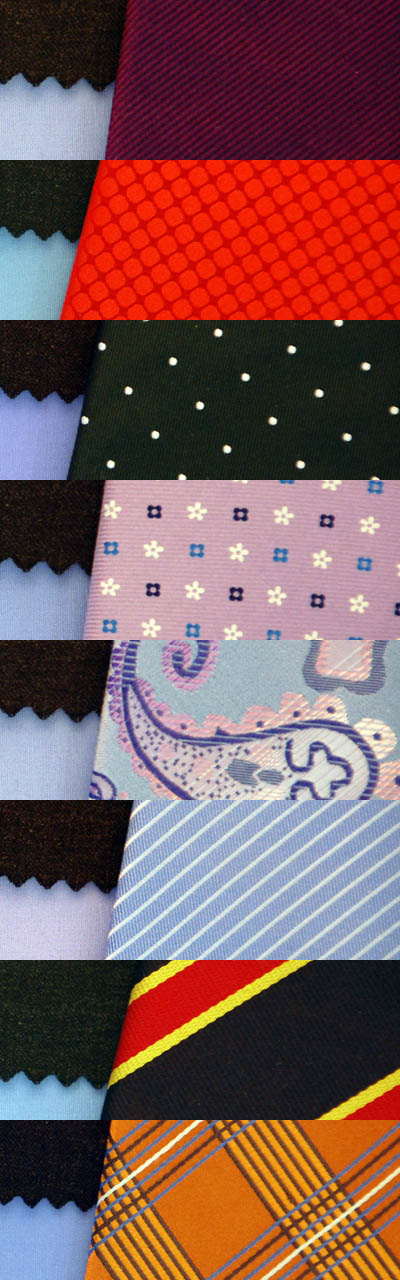 necktie patterns